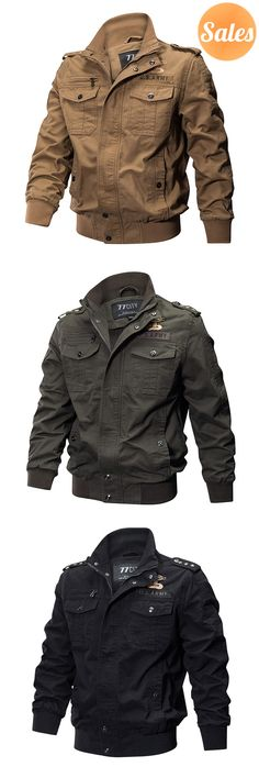 Here's Stylish Military Jackets . Suits you perfectly.