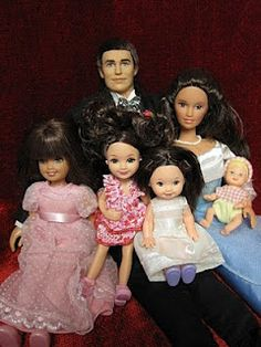 Ken doll is a 40th Anniversary doll, and the Barbie is a Generation Girl Lara doll 1998 along with Skipper,Kelly & Krissy ?