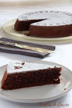 Fables de Sucre: Torta Caprestorta caprese e di Iginio Massari ( con mandorle)
