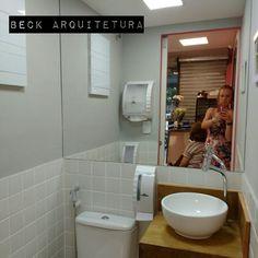 Projeto de arquitetura - Salão Studio Espaço UP Lavabo