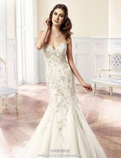 The Couture Collection of Eddy K Wedding Dresses with Italian Sophistication