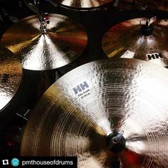 : @pmthouseofdrums  New @sabian_uk HH Remastered cymbals are here and ready for tonight's clinic at @pmteastlondon! Tickets are 5 and are available online (search '150090') & in-store! #Sabian #sabiancymbals #cymbals #drums #drummer #drumporn #pmteastlondon #pmthouseofdrums #karlbrazil #peteraybiggin #clinic #event #masterclass #drumlife #shiny #eastlondon #london #romford #tickets #pmthouseofrock #repost #regram by pmthouseofrock