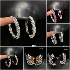 #earrings #zircon #studs #highquality #richlook  #Beautiful #lovely #elegant #festive #wedding #trendy #designer #exclusive #statement #latest #design #ethnic #traditional #modern #indian #divaazfashionjewellery available Grab them fast 😍😍 Inbox for orders & more details plz Or mail at npsales421@gmail.com Bangles, Bracelets, Festive, Studs, Ethnic, Indian, Traditional, Elegant, Detail