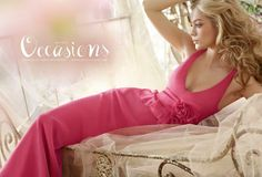 Jim Hjelm Occasions Bridesmaids and Special Occasion Dresses Style 5300 by JLM Couture, Inc. Bridesmaids, Jim Hjelm Occasions, Hot Pink Weddings, Fashion Advertising, Trends, Flower Dresses, Wedding Party Dresses, Bridesmaid Dresses, Style