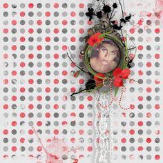 Grungy Elegance by Mel Designs #thestudio #digitalscrapbooking