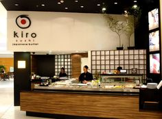 Very Modern Aethetic-- food court/japanese concept