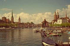 Zurich, Switzerland. I would like to go back and spend more than 45 minutes here...