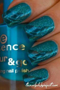 Turquoise nail