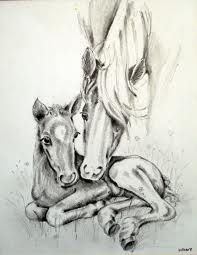 horse drawing - So sweet...