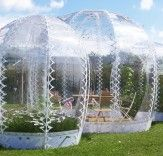 Lucy Wang SHJWORKS' Pop-Up Greenhouses Add a Splash of Summer to Cold Climates  Read more: SHJWORKS' Pop Up Greenhouses Add a Splash of Summer to Cold Climate Cities | Inhabitat - Sustainable Design Innovation, Eco Architecture, Green Building