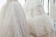 Full skirts on Zuhair Murad wedding dresses: (http://racked.com/archives/2014/04/16/bridal-couture-shoes-zuhair-murad.php)