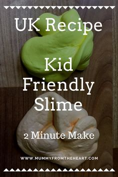 UK Recipe - Fabulous Fun 2 Minute Make Kids Silly Putty/ Slime