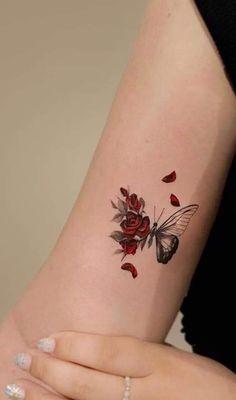 Classy Tattoos, Dainty Tattoos, Pretty Tattoos, Unique Tattoos, Small Tattoos, Beautiful Tattoos, Dope Tattoos For Women, Butterfly Tattoos For Women, Tiny Tattoos For Girls
