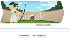2012 London Olympics: Google Doodle Celebrates Day 2 of Games with Archery