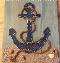 Anchor String Art Kit