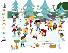 Extrait du Cherche et Trouve au éditions Auzou Mazes For Kids, Activities For Kids, Spot The Difference Kids, I Spy Games, Wheres Wally, Best Free Email, Hidden Pictures, Kindergarten, Powerpoint Word
