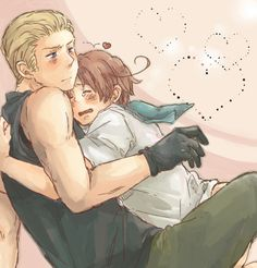 I feel the same about GerIta as I do about USUK. They are adorable together. Germany keeps Italy in line (er, well, tries to) and Italy helps Germany have fun every now and then. <3