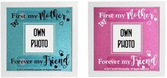 First my Mother Forever my Friend change name/add photo Vinyl Sticker for frame #Unbranded