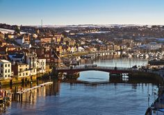 Whitby, England-no matter where I've been or where I'm going. Whitby always draws me in. Fab place!