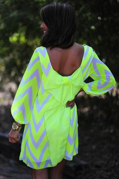 The Dream Dress: Neon Yellow | Hope's | COOL WEBSITE