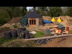 Earthship - Brittany Groundhouse: Full length BBC Documentary.