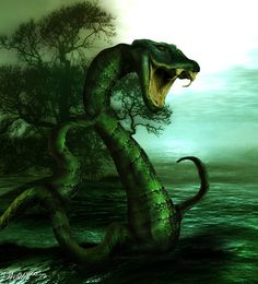 Lake monster - Worth1000 Contests