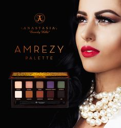Fall in love with the rich shades Anastasia Beverly Hills created in collaboration with makeup artist Amrezy ~ aka @amrezy. Featuring essentials for any makeup artist or enthusiast that are long-wearing, blendable, with an intense payoff and a velvet-smooth finsh. EXCLUSIVELY at ULTA!