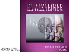 El alzheimer Elena Aparicio