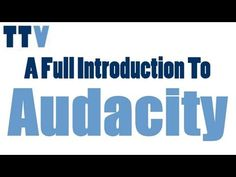 Introduces Audacity's interface, then shows simple techniques to record and edit a clip. Includes setting preferences, noise removal, normalization, equaliza...