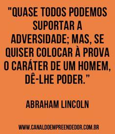 FRASE Abraham Lincoln