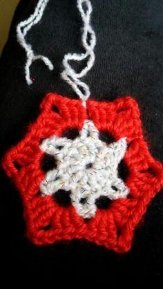 #crochet #handmade #stars #christmas #zvjezdice #snowflake 10 kn/kom