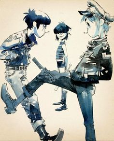 One of my fab gorillaz pics