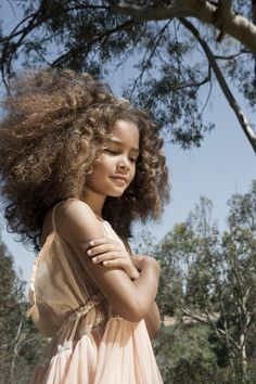 Collections that include: Season of Hair / dani brubaker afro . Natural Hairstyles For Kids, Cool Hairstyles, Beautiful Children, Beautiful Babies, Fashion Kids, Big Hair, Your Hair, Curly Hair Styles, Natural Hair Styles