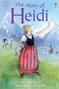 Heidi by Johanna Spyri Books for girls Books for girls #Lottie dolls #love reading