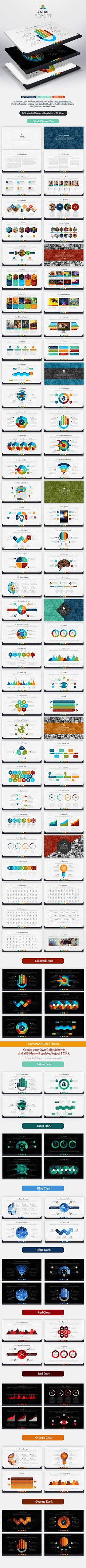 Anual Report | Powerpoint Presentation Template #powerpoint #powerpointtemplate #presentation Download: http://graphicriver.net/item/anual-report-powerpoint-presentation/9780169?ref=ksioks