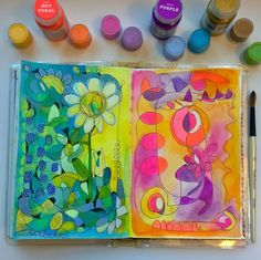 Learn how to develop a unique, intuitive artistic style with Pam Garrison. In this four-part journey, Pam shares her approach to using 'action and reaction' to create artwork in a sketchbook. Learn how to draw and doodle using your dominant and non-dominant hands and create backgrounds...