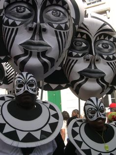 Africa - Carnival Costumes