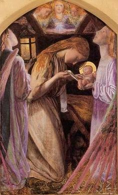 La Natività, #ArthurHughes From Glob-Arts