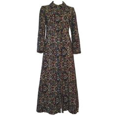 Vintage and Designer Coats and Outerwear - For Sale at Maxi Coat, Vintage Shops, 1970s, Cool Style, Vintage Outfits, Tapestry, Coats, Fantasy, Shopping