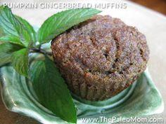 » Pumpkin Gingerbread Muffins (Nut-Free)