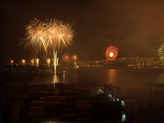 New year in Valparaiso, Chile
