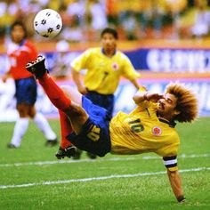 "Carlos ""El Pibe"" Valderrama 