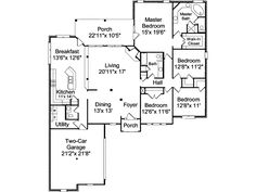 The Rowland Place Craftsman Home has 4 bedrooms, 2 full baths and 1 half bath. See amenities for Plan 024D-0051.