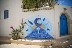 Djerbahood - Inkman Mural | Djerba, Tunisia