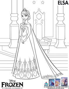 New! Disney's FROZEN Printable Activity and Coloring Sheets. for Olivia, Hazel, Audrey, Savannah, Gracey and Bethany.