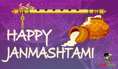 Wishing everyone Happy Janmashtami.