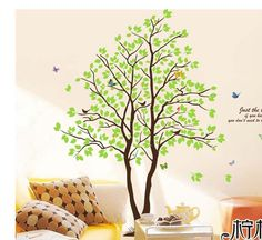 """71"""" Large Wall Stickers Huge Tree Removable Vinyl Wall Decals Home Decor Art DIY #Dofa #ArtsCraftsMissionStyle"""