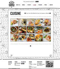 Food Web Design, Web Design Inspiration, Design Ideas, Custom Website, Nyc Restaurants, Recipe Sites, Create Website, Food Industry, Business Website