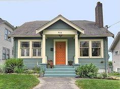 Blue House Orange Door