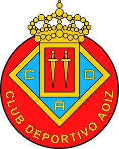 Club Deportivo Aoiz Football Soccer, Badges, Crests, San, World, Football Team, Legends, Sports, Flags